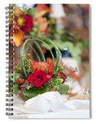 Floral Centerpiece Spiral Notebook