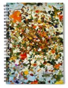 Floral Chaos Spiral Notebook
