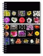 Floral Composite Not For Sale Spiral Notebook