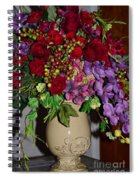 Floral Decor Spiral Notebook