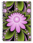 Floral Decorations Spiral Notebook