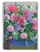 Floral Display Spiral Notebook
