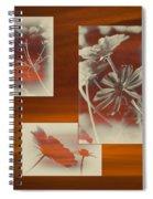 Floral Early Garden Light 01 Spiral Notebook
