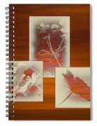 Floral Early Garden Light 06 Spiral Notebook