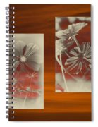 Floral Early Garden Light 07 Spiral Notebook