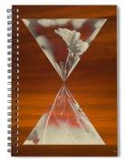Floral Early Garden Light 08 Spiral Notebook