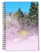 Floral Entrance Spiral Notebook