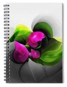 Floral Expression 111213 Spiral Notebook