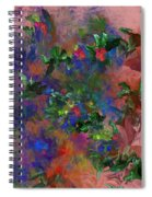 Floral Fantasy 010413 Spiral Notebook
