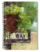 Floral - Flowers - One Way Spiral Notebook
