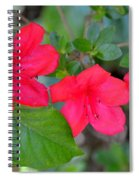 Floral Hedge Spiral Notebook