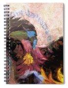 Floral Horse Spiral Notebook