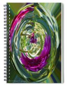 Floral Illusion 1 Spiral Notebook
