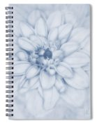 Floral Layers Cyanotype Spiral Notebook