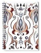 Floral Pattern I Spiral Notebook