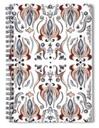Floral Pattern IIi Spiral Notebook