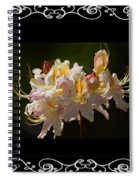 Floral Photomontage 1 Spiral Notebook
