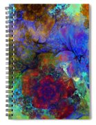 Floral Psychedelic Spiral Notebook