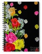 Floral Rhapsody Pt.4 Spiral Notebook