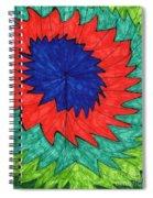 Floral Spin Spiral Notebook