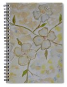 Floral Stem Spiral Notebook