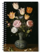 Floral Still Life Spiral Notebook