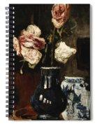 Floral Still Life Spiral Notebook