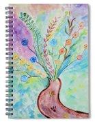 Floral Stream Spiral Notebook