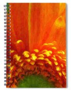 Floral Sunrise - Digital Painting Effect Spiral Notebook