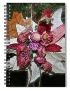 Floral Tree Ornament Spiral Notebook