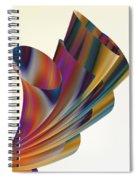 Floral Trumpets Spiral Notebook