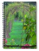 Floral Window Spiral Notebook