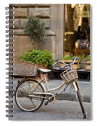 Florence Bicycle  Spiral Notebook
