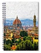 Florence Impasto Spiral Notebook