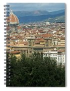 Florence Italy Panoramic Spiral Notebook