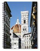 Florence Italy Santa Maria Fiori Duomo Spiral Notebook