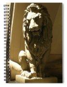 Florence Lion Spiral Notebook