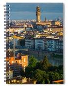 Florence Panorama Spiral Notebook
