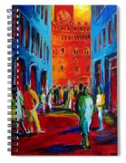 Florence Sunset Spiral Notebook