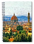 Florence Watercolor Spiral Notebook