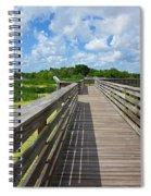 Florida Boardwalk Spiral Notebook