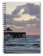 Florida Fishing Pier Spiral Notebook