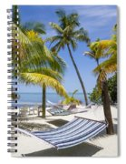 Florida Keys Wellness Spiral Notebook
