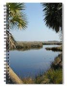 Florida Marshland Spiral Notebook