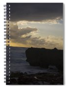 Florida Morning Sunrise Silhouette Spiral Notebook