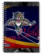 Florida Panthers Christmas Spiral Notebook