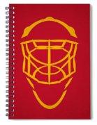Florida Panthers Goalie Mask Spiral Notebook