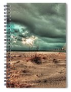 Florida Point Begining Of The Storm Spiral Notebook