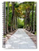 Florida Walkway Spiral Notebook
