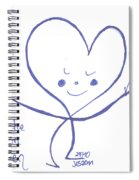 Flourish Within Your Heart Spiral Notebook